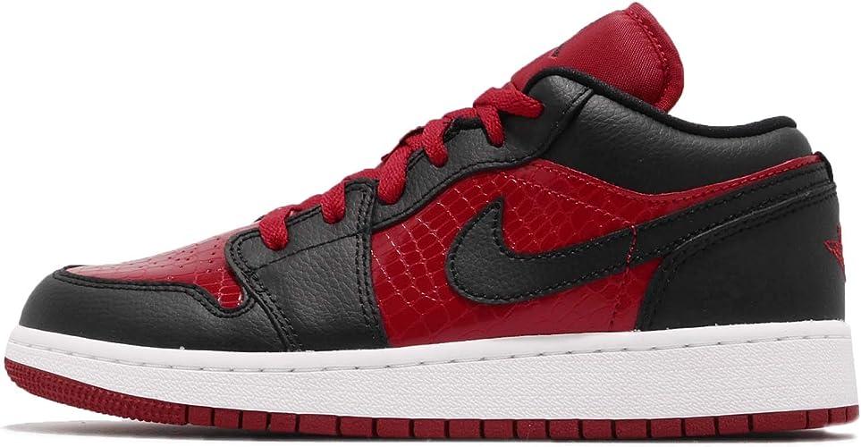 Nike Air Jordan 1 Low (GS), Scarpe da Ginnastica Basse ...