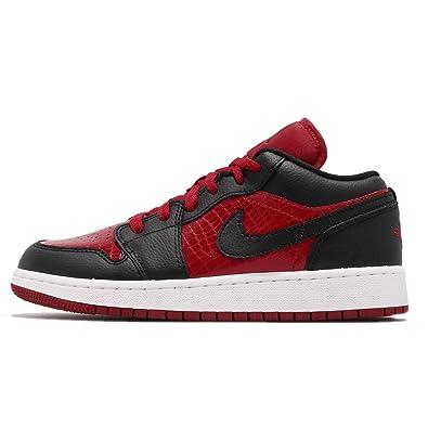 newest e0a3b 321a0 Nike Unisex-Kinder Air Jordan 1 Low (GS) Sneaker, Rot (Gym Red Black-White  610), 37.5 EU  Amazon.de  Schuhe   Handtaschen