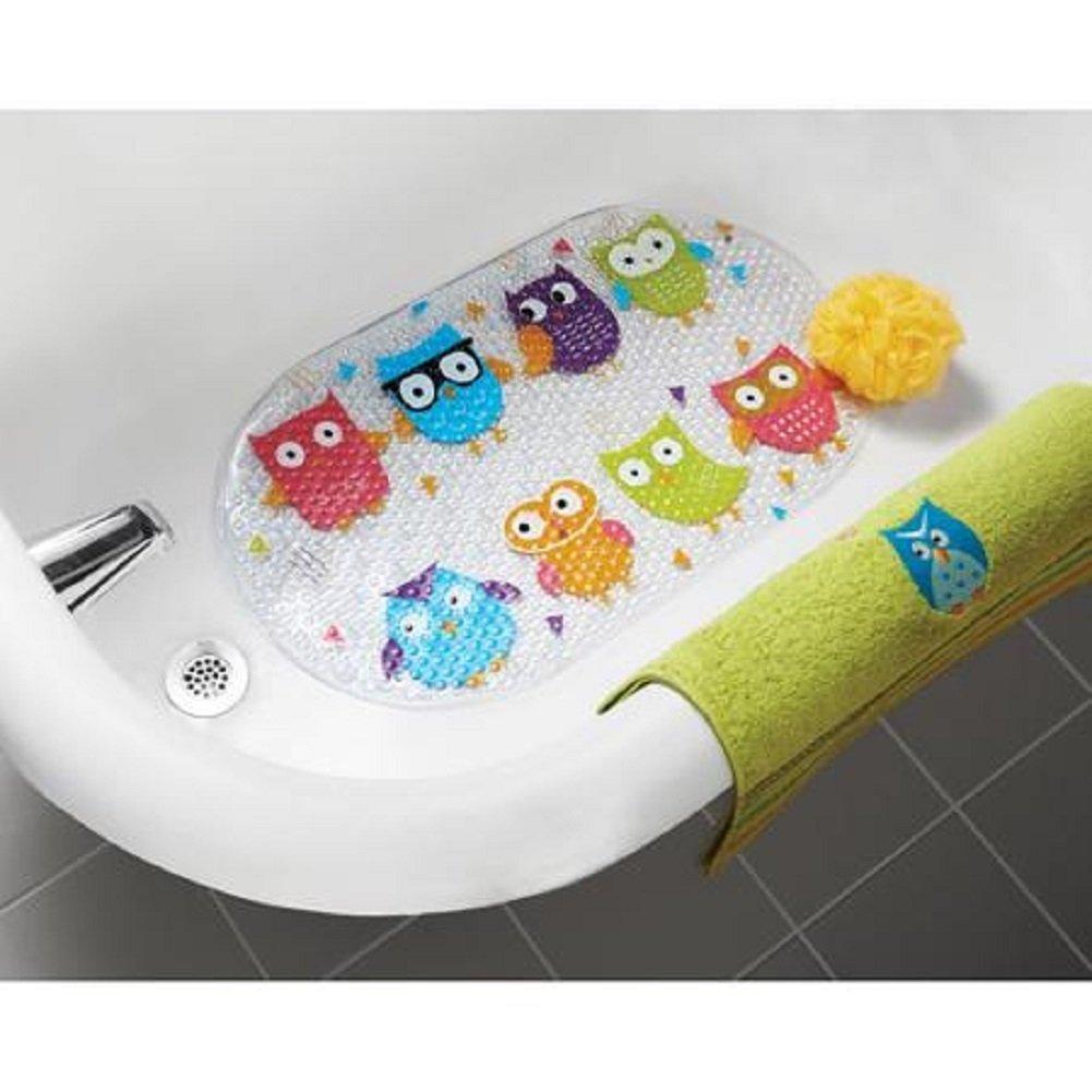 Mainstays Whooty Hoot Non Slippery Bathtub Mat MS44