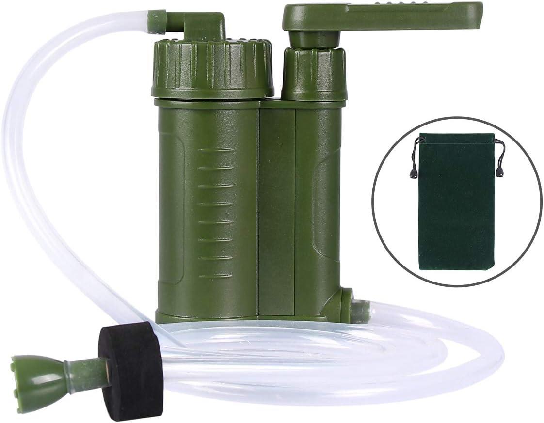 Qdreclod Filtros de Agua Portátil, Personal Sistema de Filtración ...