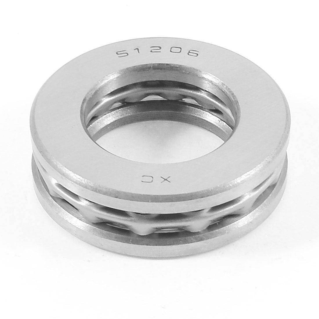 SuperWarehouse a13050600ux0330 Replacement 52mm x 30mm x 16mm Single Direction Thrust Ball Bearing 51206 1.18 ID Aluminium Alloy 2.05 OD swh716505ca168705