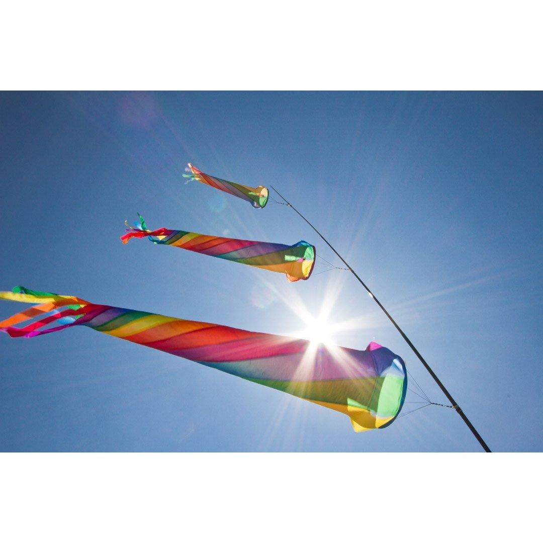 HQ Windspiel Turbine 300 cm Drachen und Leinenschmuck