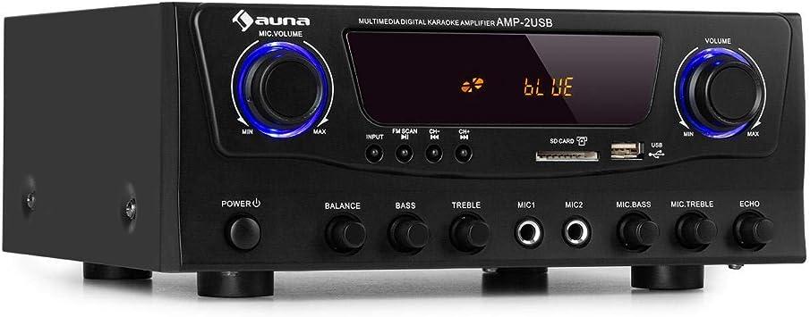auna Amp-2 BT Amplificador Hi-fi: Amazon.es: Electrónica