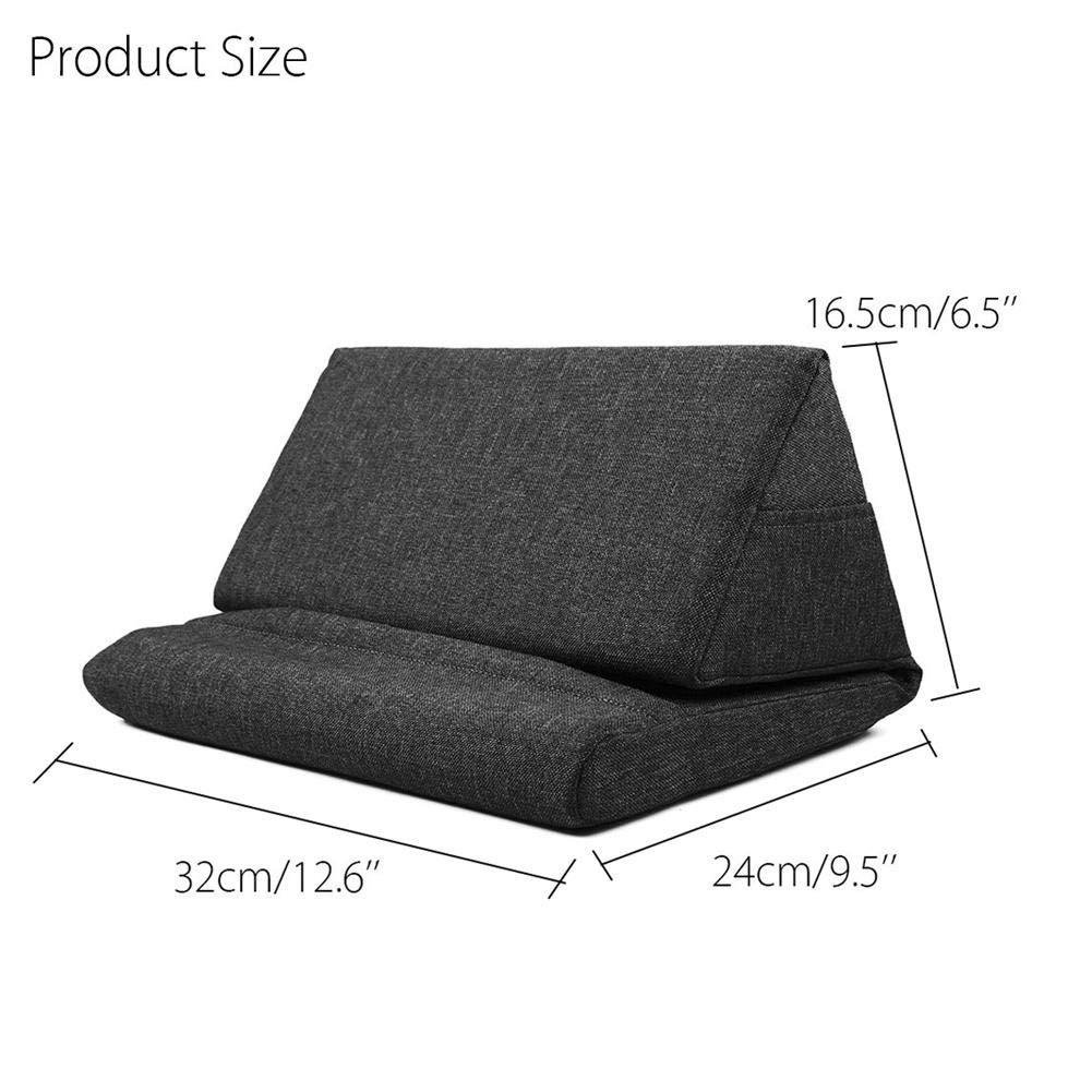 Laptop Tablet Almohada Espuma Lapdesk Multifunci/ón Laptop Cooling Pad Tableta Soporte Coj/ín de descanso con bolsa Soporte Soporte Lap