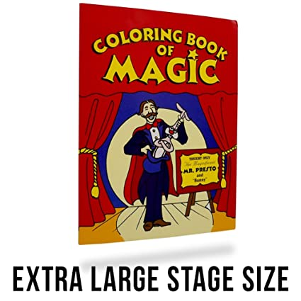 Magic Makers Magic Coloring Book Trick - Extra Large: 10.5\