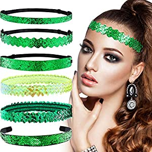 6 Pieces Irish Hairbands & Headbands