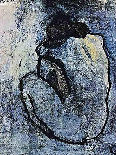 Neron Art Pablo Picasso Blue Nude, 1902 - Original for sale  Delivered anywhere in USA