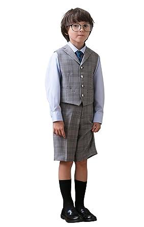 0e070215c1ace  WF by WANDER FACTORY  入学式 男の子 スーツ ベスト (フォーマルスーツ 4点