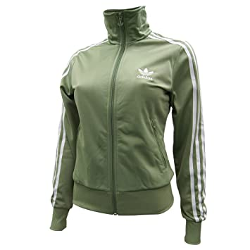 1f8533777488b adidas Firebird Women's Tracksuit Jacket green Size:46: Amazon.co.uk ...