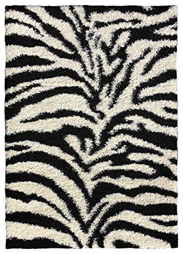 Soft Zebra Black White Shaggy product image