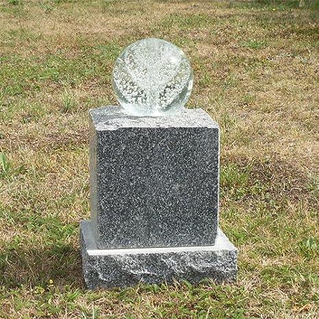 Granito Piedra Fuente para jardín o Juego completo de Brunnen Socket de bolas de cristal LED: Amazon.es: Jardín