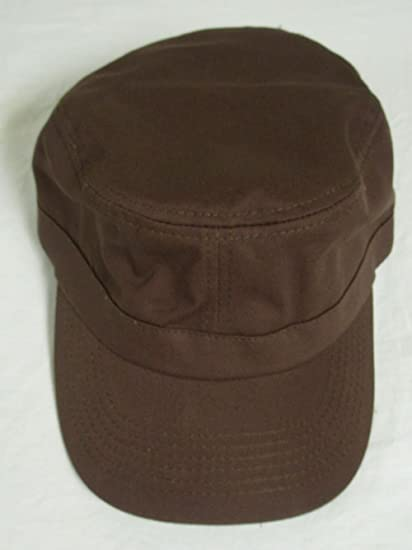 Amazon.com   Military Style Golf Hat (Brown) Blank Ranger Cap   Sports    Outdoors 8a5eebd7edf
