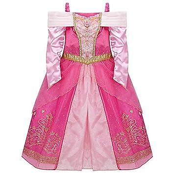 Amazon.com: Disney Sleeping Beauty Aurora Costume for Girls Dress ...
