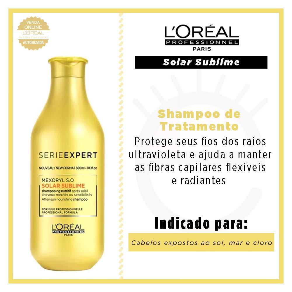 Amazon.com: Lâ€OrÃal Professionnel Solar Sublime Shampoo ...