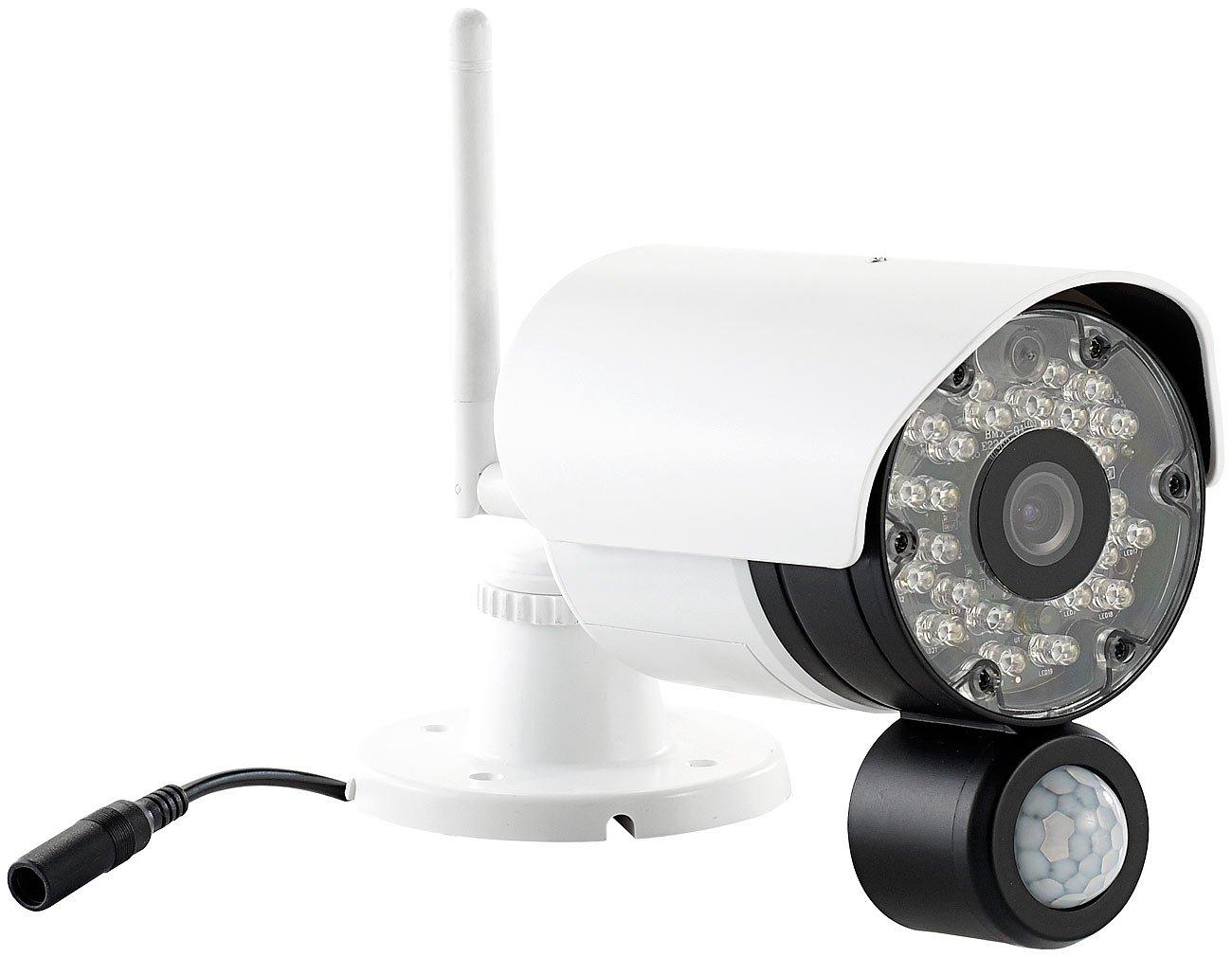 VisorTech PX-3747-944 DSC-720 - Cámara de vigilancia (con sensor pasivo de infrarrojos PIR) (importado)