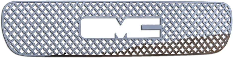 Ferreus Industries Grille Insert Guard Mesh Punch Polished Stainless fits 2000-2006 GMC Yukon TRK-130-04-Chrome-b