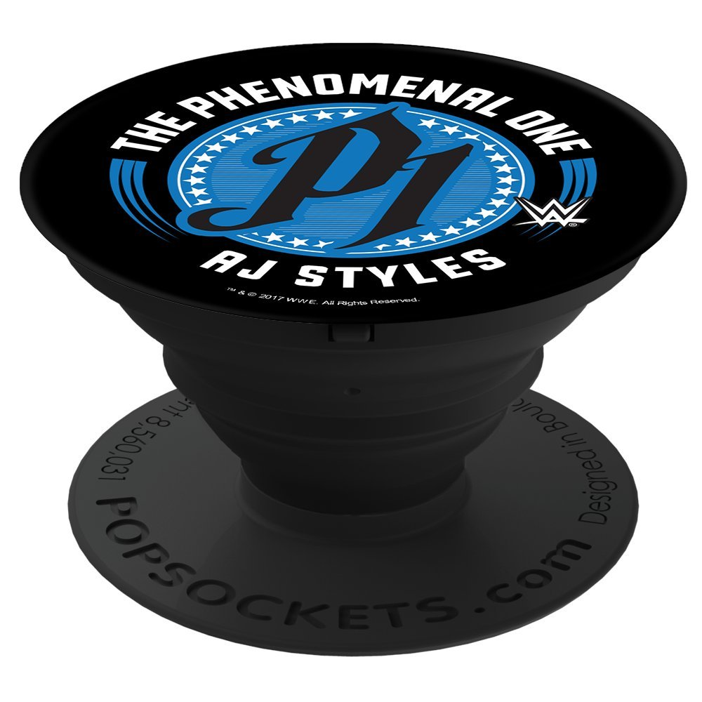 PopSockets Cell Phone Stands - Smartphones & Tablets -''WWE The Phenomenal One AJ Styles'' by PopSockets