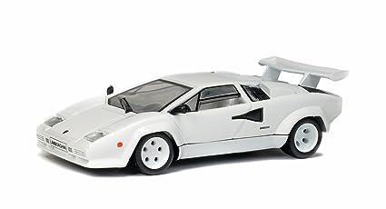 Amazon Com Lamborghini Countach Lp500s White 0 Model Car