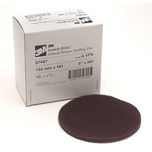 Scotch-Brite Scuffing Disc 07467, 6 in x NH A VFN