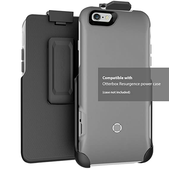 quality design 5c3eb f025b Encased Belt Clip Holster - for iPhone 6 6s OtterBox Resurgence Power  Battery Case