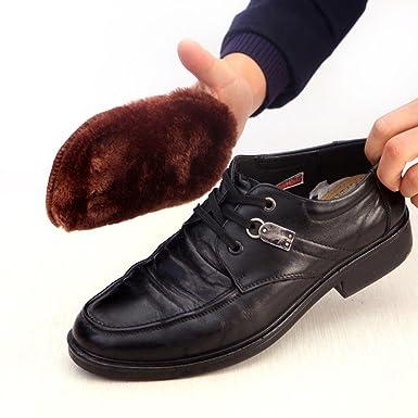 Amazon.com: BeBettform - Guantes para zapatos de piel ...