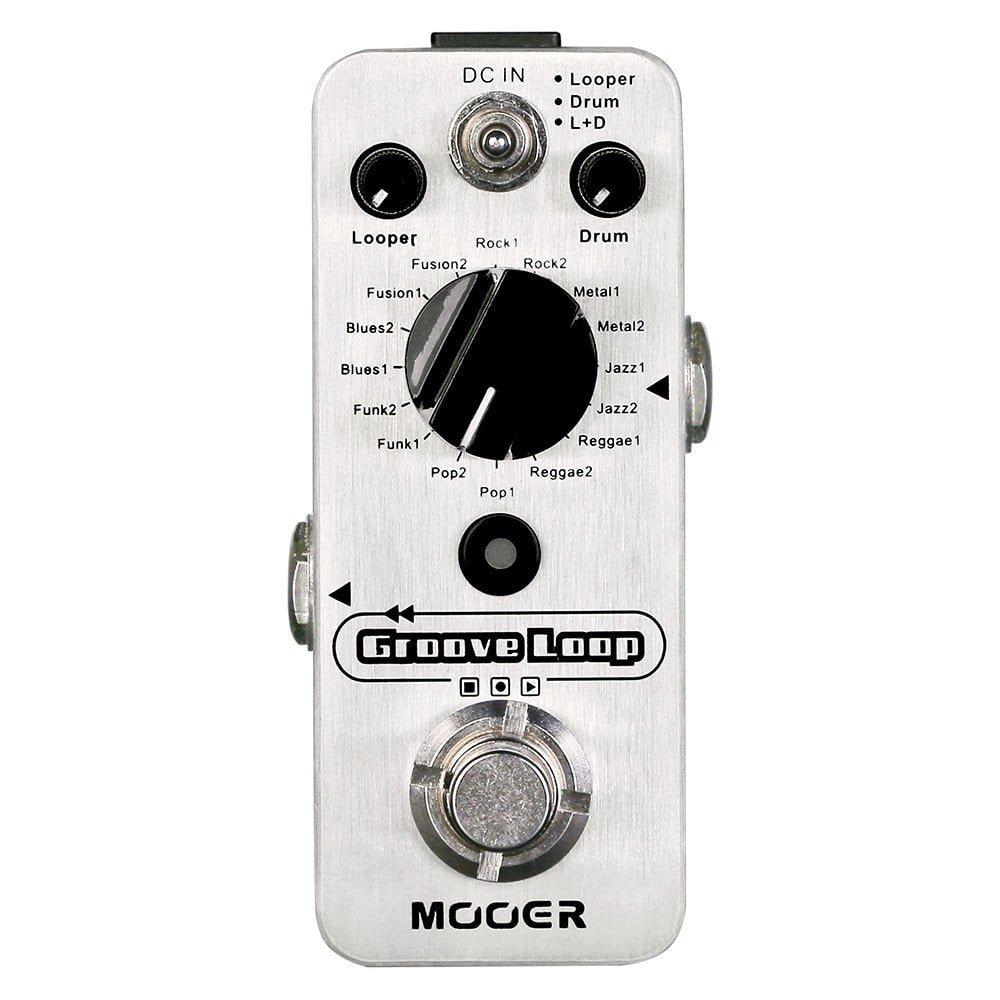 MLP 2 Groove Loop Drum Machine + Looper Mooer Audio
