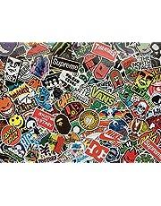 Okänt dekalset skateboard, märken, logotyper, klistermärken, skridskoåkning, snowboard, Rollboard, Energy Drink, Street, Sport, Sticker av vinyl, vattentät, för dekoration, skridskoåkning, BMX, motorcykel, graffiti