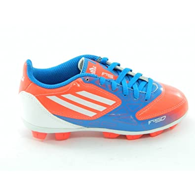 f7f67ea09 Adidas F5 TRX HG J V24830 Boys Kids soccer cleats / kids football boots Red  13.5 K: Amazon.co.uk: Shoes & Bags