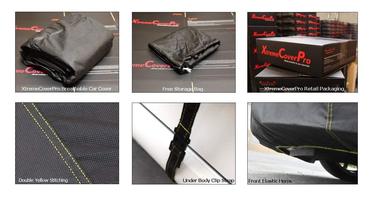 Space Gray XtremeCoverPro 100/% Breathable Car Cover for Select Mercedes E Class Sedan E350 E400 E550 E63 E63S AMG 2006 2007 2008 2009 2010 2011 2012 2013 2014 2015 2016