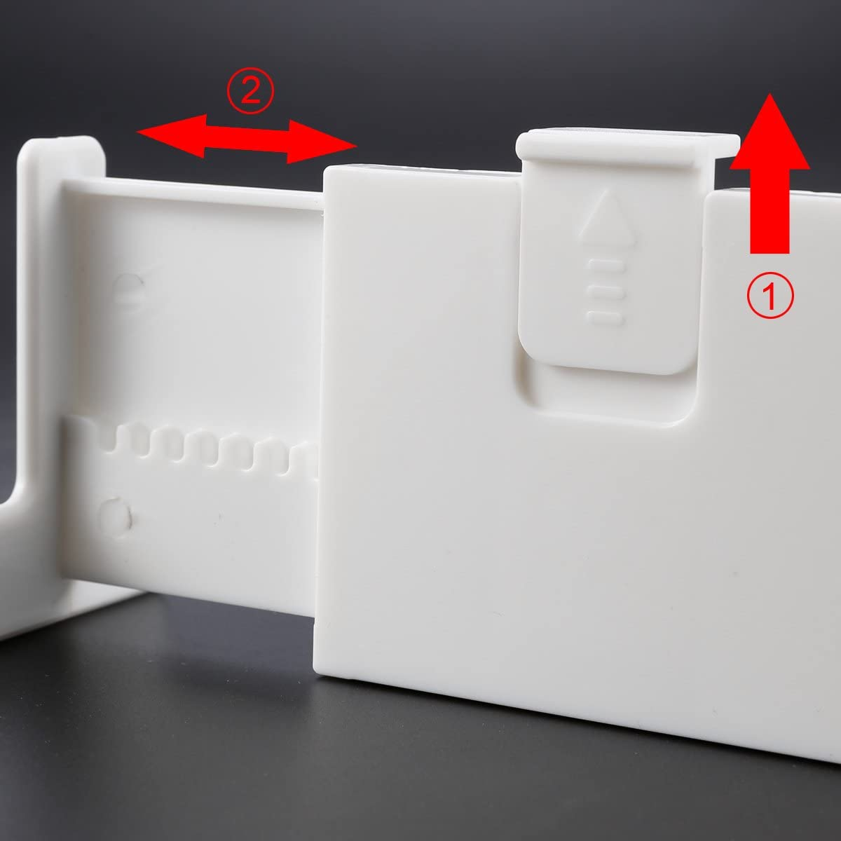 expansibles Anladia mecanismo con muelles para cocinas o dormitorios 2 y 4 piezas Divisores de cajones