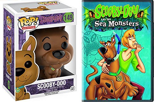Scooby-Doo! and the Sea Monsters Cartoon Movie & The Funko POP! Animation: Scooby Doo Bundle Animated (Halloween Cartoons In French)