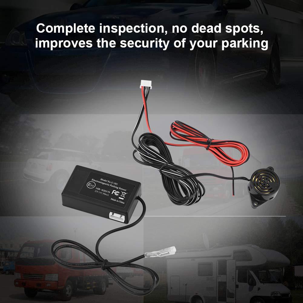 Zerone Voiture Parking Radar Induction /Électromagn/étique de S/écurit/é Syst/ème Sauvegarde Radar Capteur Syst/ème
