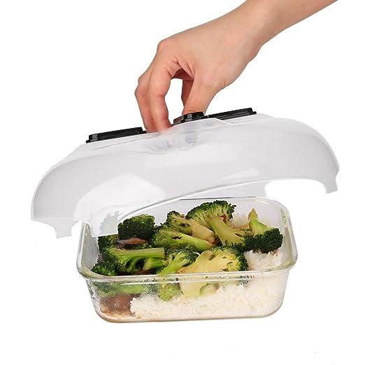 hengbaixin Práctico protector de salpicaduras de alimentos para ...