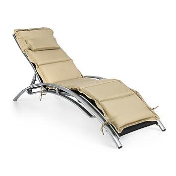 Blumfeldt Intermezzo Chaise longue jardin Transat au design ...
