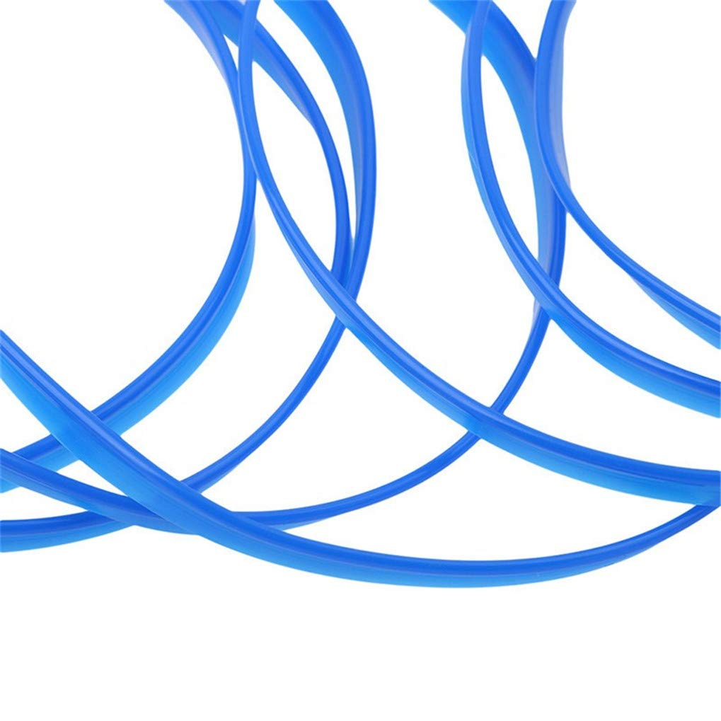 Timesuper Car Interior Moulding Trim DIY Flexible Automobile Interior Exterior Decoration Moulding Trims Strip line Sticker,Blue 3M