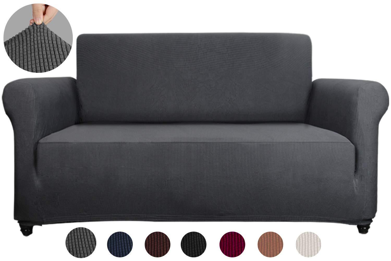 Amazon.com: Sancua - Funda para sofá de 1 pieza, resistente ...