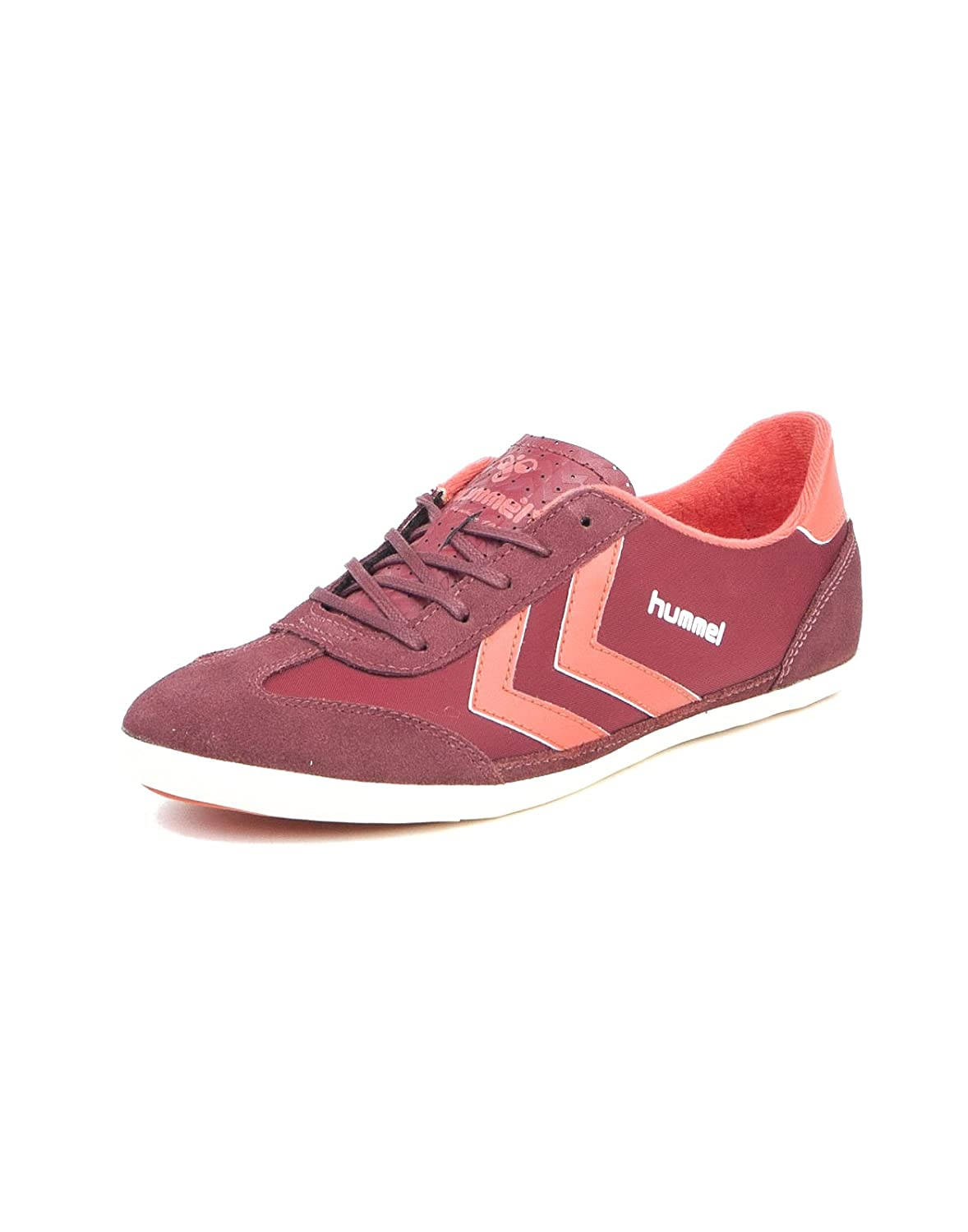 pretty nice 2a11f f3e27 hummel Venice Retro Sneaker Oxblood, Red, 36: Amazon.co.uk ...