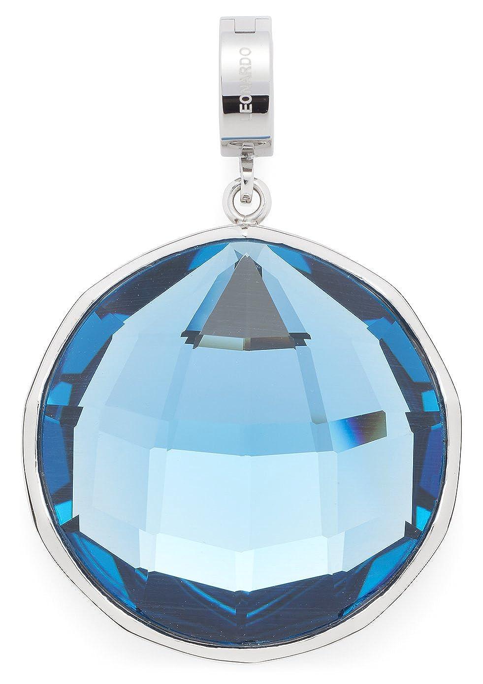Leonardo Jewels Damen Anhänger Darlin's Ondina Edelstahl Glas blau 016263