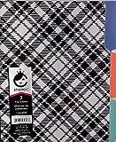Carolina Pad Studio C 3 File Folders (Black & White Designs)