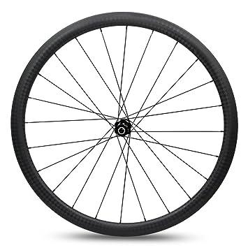 Yuanan Rueda para Bicicleta de Carretera, 30 mm, Perfil bajo, 28 mm, Aero Rim con BITEXStraight Pull Hub Tubeless: Amazon.es: Deportes y aire libre