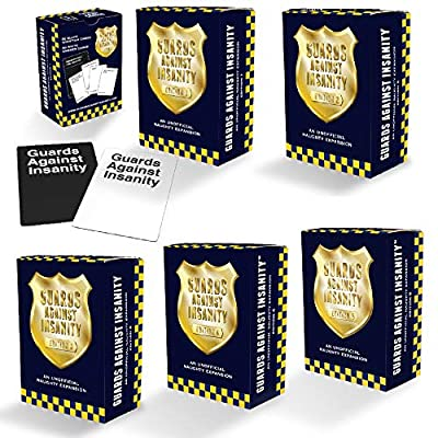 Guards Against Insanity Collection Pack Includes Editions 1-5, an Unofficial Naughty Expansions: Toys & Games