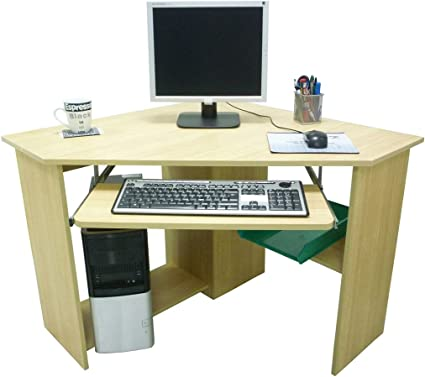 Scrivania Porta Computer Angolare.Mobile Scrivania Angolare Porta Pc Ipad Computer Libreria In Legno Per Casa Ufficio Amazon It Elettronica