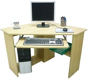 Mobili per pc in legno for Mobile scrivania libreria
