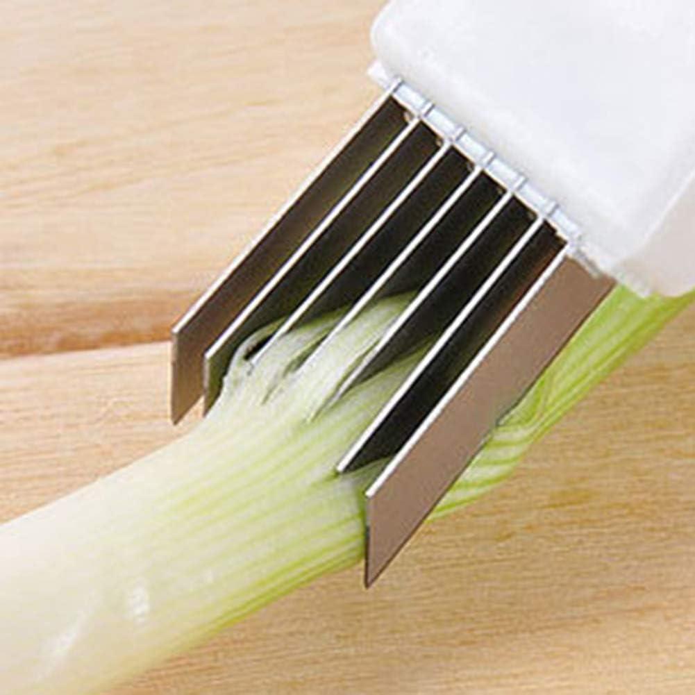 Julienne Scallion Slicer Cutter Peeler Onion Comfortable Peeling Slice Tool SL
