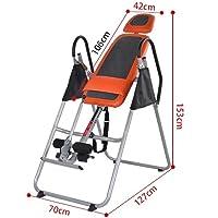 QAZSE Gravity Inversion Therapy Table, Fitness, Dolor de espalda, Aliviar, Relajarse, Abdomen, Aumentar, Stress Reliever