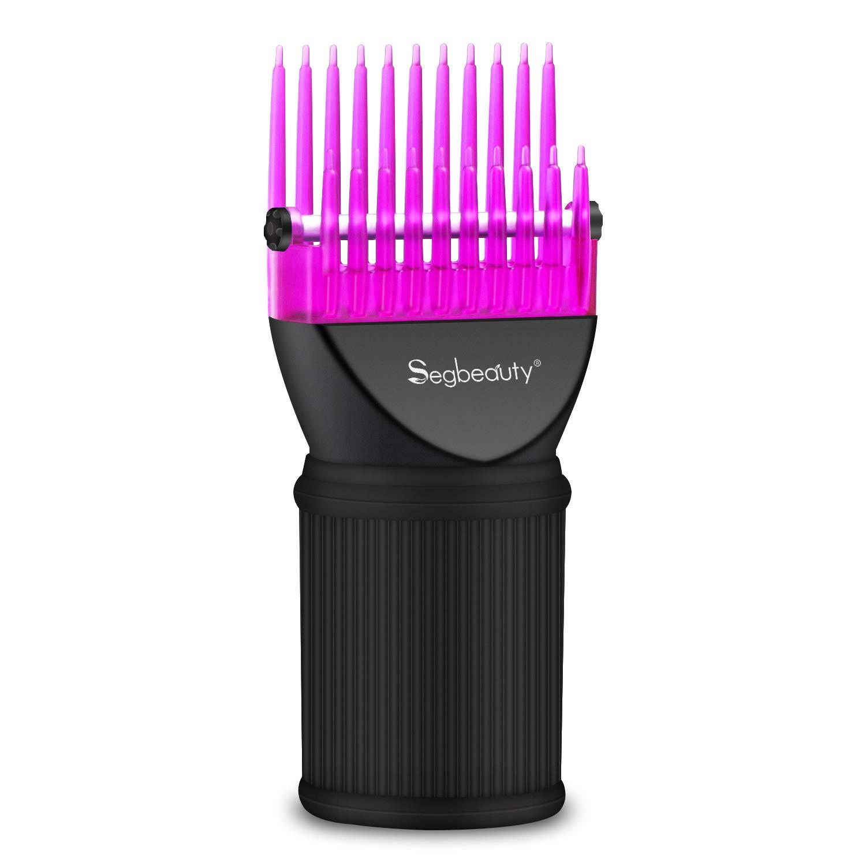 Peine secador de pelo, accesorio de boquilla concentradora de pelo de Segbeauty, accesorio para cepillo de peluquería, herramienta de peluquería para ...