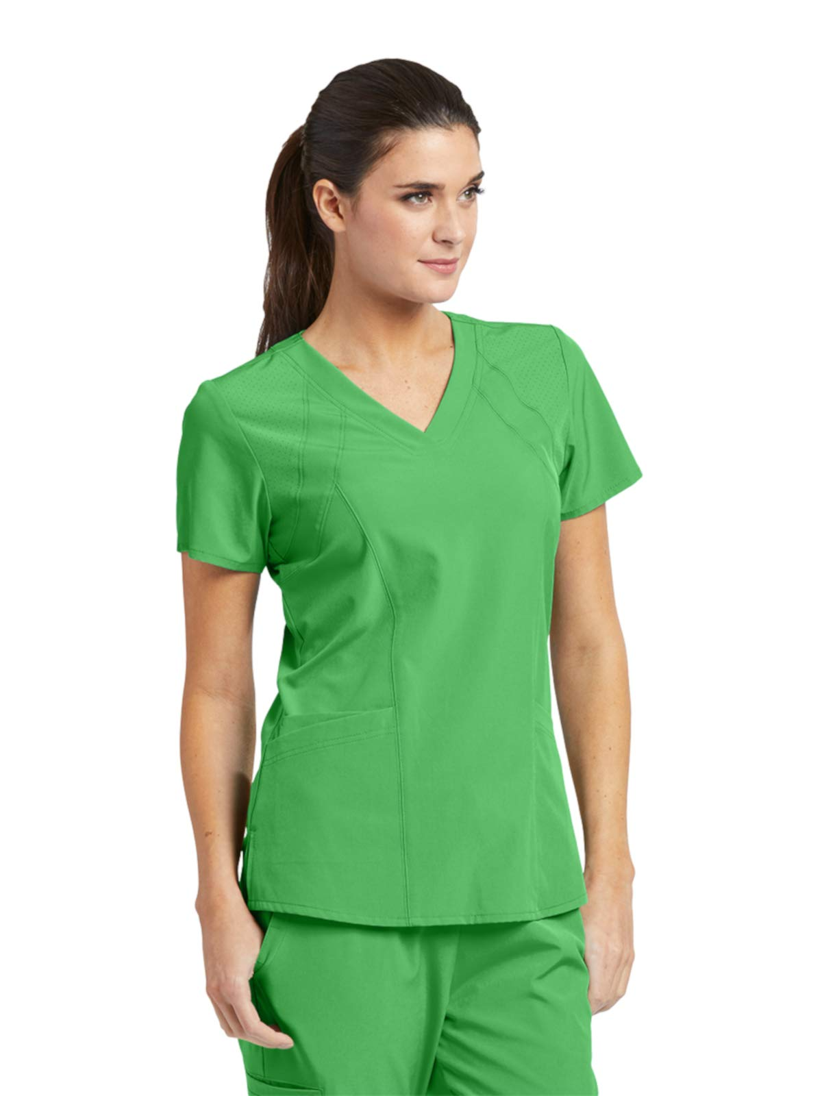 Barco One 5105 Women's V-Neck Top Go Green S