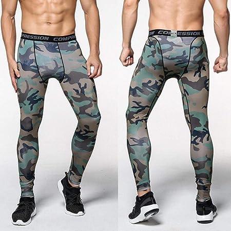 Chen0-super Mens Gym Joggers Pantalones de chándal Transpirable ...
