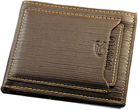 Men/'s Bifold Leather Wallet ID Credit Card Holder Billfold Purse Clutch Hot