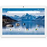Android Tablet 10 Inch, 3G Phone Tablets with 16GB Storage, Dual SIM Card Slots, Quad-Core Processor, HD Touchscreen…